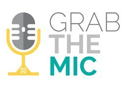 Grab the Mic! logo