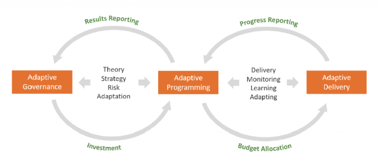 The Adaptive Management Life Cycle – The interplay between adaptive governance, adaptive programming and adaptive delivery